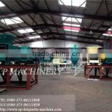 15 t/h pet coke briquette production plant