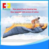 Hot selling lazy hangout inflatable air sleeping bag camping, couch bed for outdoor camping