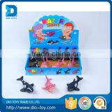 Professional rubber toy sea animals rubber toy animals with high quality rubber toy animals