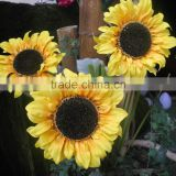 high quality best sell import china silk flowers artificial Sunflower wholesale manufacturer in China