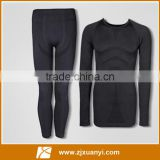 High quality men sport wear gray color body buyilding gym wear spandex runing wear sport suit