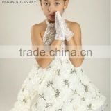 2013 New Style! white ballroom dance dress for kids&adults