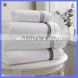 Hotel bath towel, 100% cotton, 16s/1,21s/2,32s/2, Plain, Jacquard, Dobby Border, Embroidery as your request