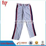 Manufacture new stylish baseball /Softball pants with your design softball uniform for sportswear