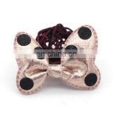 Baby Bows Clip With Polka Dot Hair Bow Glitter Clip For Baby Girl Birthday Party Favors