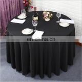 Wholesale Washable Heat Hotel Banquet Table Cloth Black Tablecloths