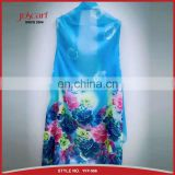 Fashionable cheap summer scarf magic chiffon scarf