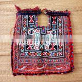 Vintage Banjara Fabric yoke Neck Patches-Indian Vintage Neck Yoke- Bohemian Kutch embroidered Patch