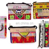 Indian Wholesale lot Tribal Beaded Coin Purse,Embroidered Gypsy Banjara Kutchi Bag,Afghani Style Coin purse,Vintage Clutch purse