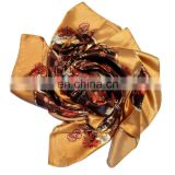 Fashionbale High Quality Nice Seller Satin Neck Scarf Women