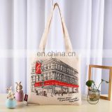 38*42 cm screen printing promotion cotton tote bag