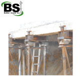 Foundation push pier systems and helical piers