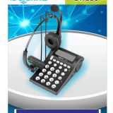 China BN220 business telephone +CS11 business telephone headset for call center