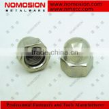 Hexagon domed welded M3 cap nuts