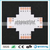 RGBW 12 mm 5 Pin + X sharp PCB FPC Board Splitter LED strip connector for SMD 5050 RGBW LED strip light