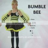 Childs Bumble Bee Dress Party Costume