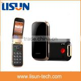 "3.2"" big button flip cellular gsm cdma mobile phones dual cameras SOS button for elderly cell phone"