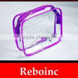 PVC Mesh Bags PVC Zippered Envelope Organization Storage Pouch Bags