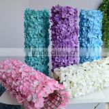white hydrangea Artificial Flower Backdropand for wedding decoration HQ-623                                                                                                         Supplier's Choice