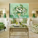 Canvas painting art Oil painting No Frame abstract oil painting painted flower Painting for Wall decor house decoration