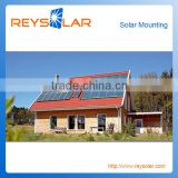 pv solar panel tile roof aluminum mount/bracket/solar module system aluminum structure for solar plants