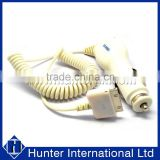 Top Quality White For Apple iPhone 4 Car Charger Plug