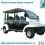 Electric people mover, 6 seats, EG6062K, CE approved