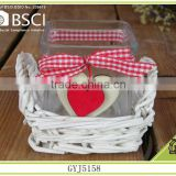 wholesale 2015 indoor decoration willow candle holder