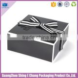 2016 Well promotioned Shapes of packing colorful garment fabric packaging cardboard shoe box