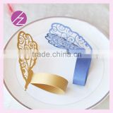 Flower Laser Cut Wedding Party Decoration Napkin Ring MJ-28 Wholesale