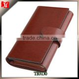 Men's wallet genuine leather magic passport phone card wallet