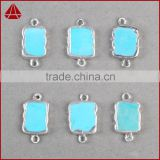 Hermosa Jewelry Unique Design 925 Sterling Silver Genuine Turquoise Necklace Jewelry Pendants Charms                                                                         Quality Choice