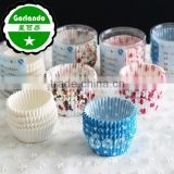 custom colourful cupcake wrapper printing baking paper cup cake cases                                                                                                         Supplier's Choice