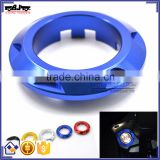BJ-ISC-TMAX Motorcycle Blue CNC Aluminum Ignition Switch Cover for Yamaha T MAX 530 2013-2015