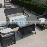 Dinning Room Sets,Rattan Dinning Room Sets, One Pc Table,One Pc Double Seat Chair,Two Pcs Single Chairs
