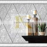 China manufacturer hexagon mother of pearl mosaic tiles in stock                                                                         Quality Choice
