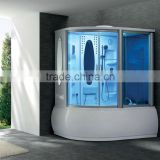 Shower room with massage bathtub shower enclosure shower cabin with whirlpool spa G159