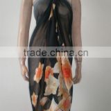 fashion ladies beach cover up polyester sarong