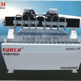multi-heads cnc engraving machine for european furniture with 8 heads