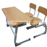 high classroom furniture school desk wood bench