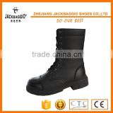 8 inch high cut black US hot selling style soldier daily wear abrasion resistant police boots