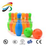 children colorful mini bowling set