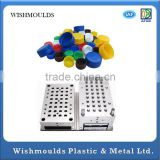 2015 china hot sale plastic injection Mould for Plastic bottle cap water bottle cap mould