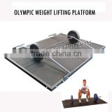 Olympic Weight lifting Platform/Weight lifting platform floor plates                                                                         Quality Choice