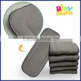 Charcoal Bamboo Liner Inserts For Cloth Diaper Washable Reusable                                                                         Quality Choice