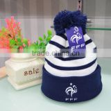 Custom Knitted Winter Hats/Beanie, 100% Acrylic/Cotton world cup football team fans beanie, Scarf & Hat                                                                         Quality Choice                                                     Most Pop