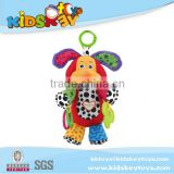 wholesale plush toy with pull string music boxes,baby musical hanging toys, plush soft toy