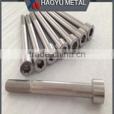 Screw Manufacturer Titanium Fasteners with Titan Bolts Nuts Screws