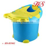 OEM outdoor portable plastic bucket spa tubs baby bath tub stand