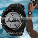 Unisex 50M Waterproof Digital LCD Alarm Date Military Sport Analog Watch 2014